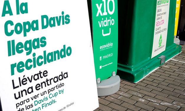 A la Copa Davis llegas reciclando