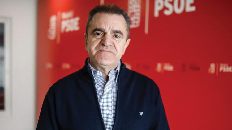 El líder del PSOE-M, José Manuel Franco, insiste en la dimisión de la alcaldesa